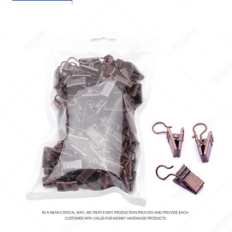 Eisen vorhang clip vintage vorhang haken clip vorhang zubehör elastische