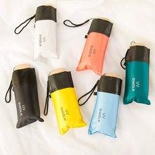 Портативный мини зонт для путешествий с защитой от солнца и