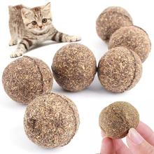 3inch Treating As Ball Natural Cat 2cm Toy Catnip 1 Pet Funny 3 Picture Edible