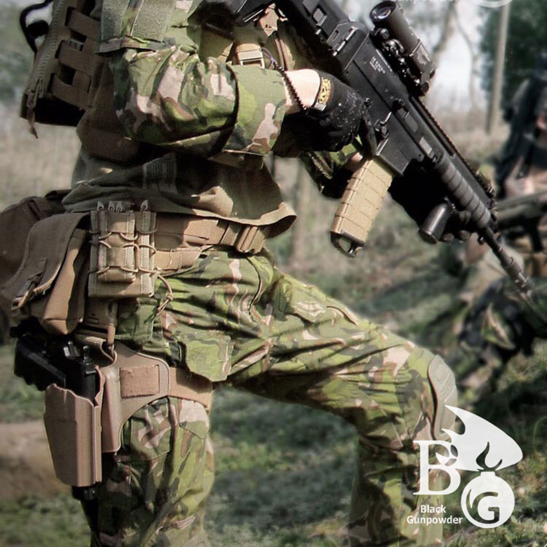 BG T-block BDU G3 Tactical Combat Uniform Suit for Airsoft