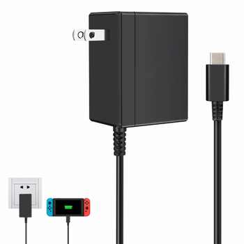 EU/US Plug AC Adapter Charger for Nintend Switch NS 1.5A 2.6A Travel Charger For Switch Charging USB Type C Power Supply - DISCOUNT ITEM  28% OFF All Category