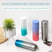 150ml mini garrafa térmica garrafa térmica de vácuo de café bonito pequena capacidade portátil garrafa de água garrafa de água de viagem de aço inoxidável