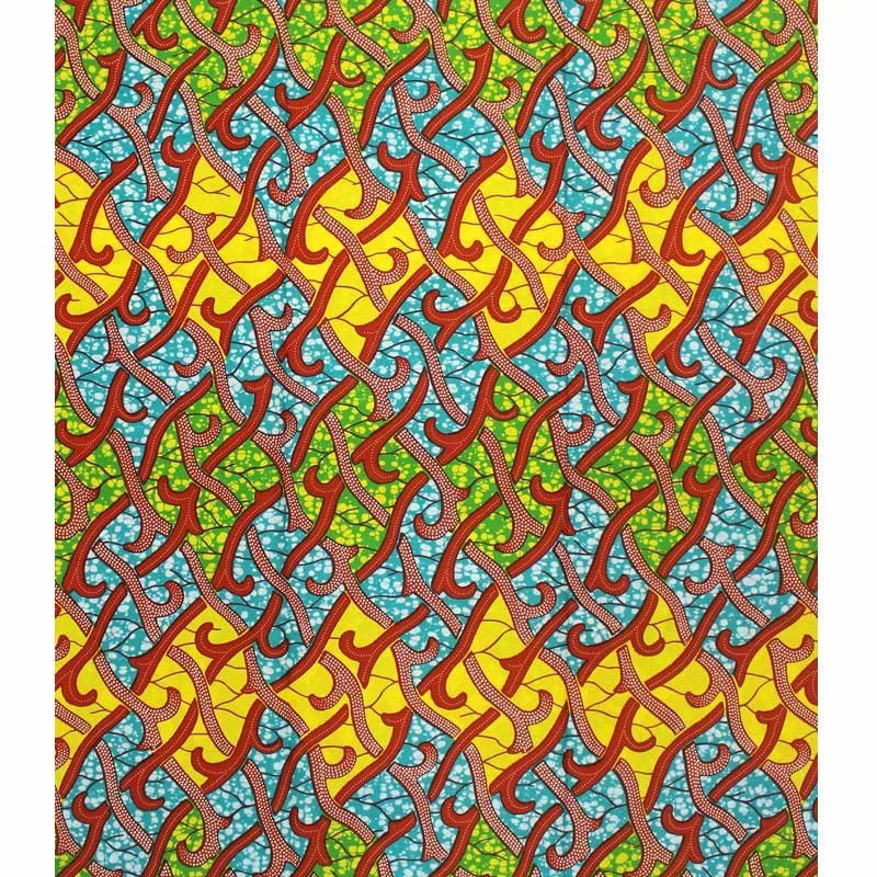 Hot Sale African Wax Fabric Prints 100 cottonr Binta 6 yard Real Wax Nigerian High Quality Fabric for Party Dress in Fabric from Home Garden