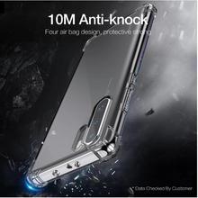 купить Shockproof Phone Case For Huawei P20 Lite P30 Pro Nova 3 3i 3e Transparent Protective Coque For Mate 20 Soft TPU Silicone Cover дешево