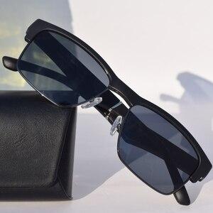 Image 5 - Óculos de sol à prova dágua com bluetooth, óculos inteligente hifi com graves e toque inteligente, mãos livres, música, com microfone