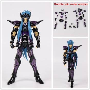 CS model Saint Seiya Cloth Myth EX Surplise Aquarius Camus model double metal cloth SC017*