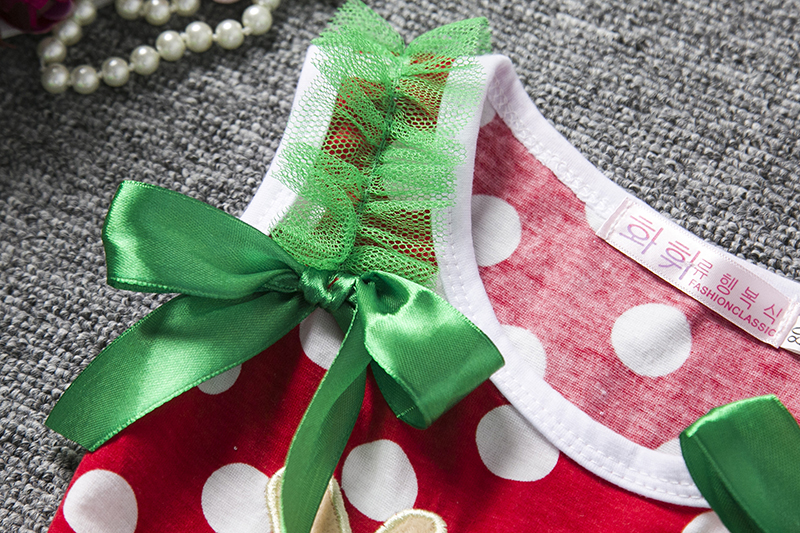 H5bf9fe48fe96457b9a3b0e45449058fds 2-6T Santa Claus Christmas Dress Kids Party New Year Costume Winter Snowman Baby Girl Clothes Christmas Tree Children Clothing