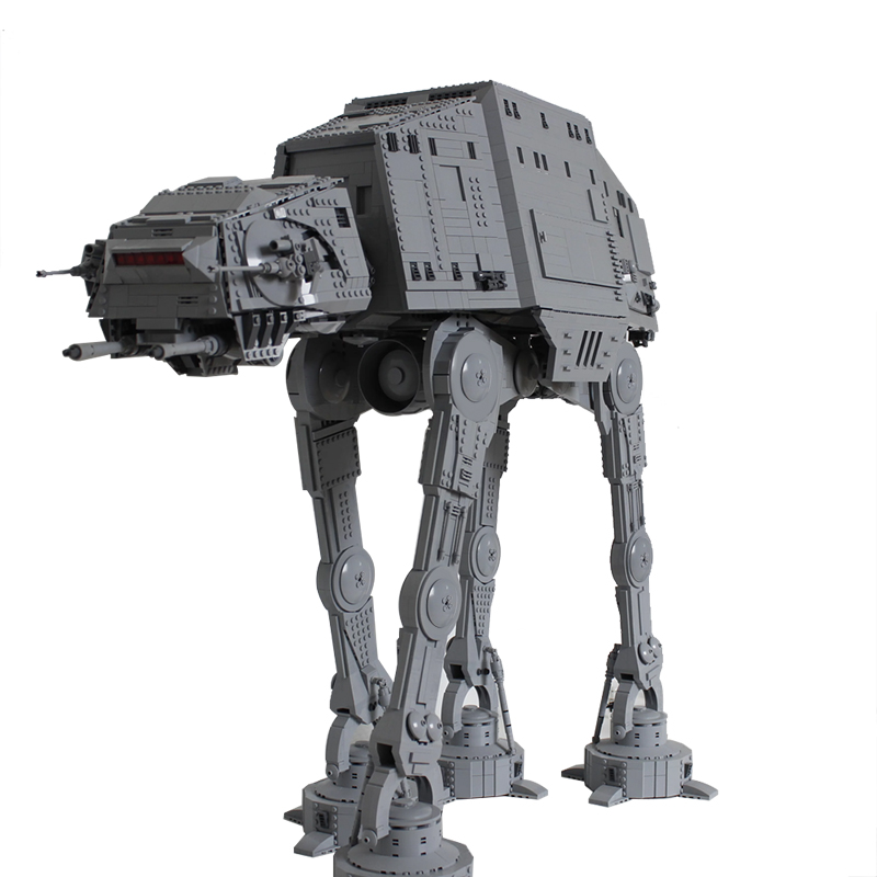 Building Blocks Compatible MOC-4042 Cavegod UCS AT-AT Instructions Technic Bricks Gifts Fit Lepining Diy Toy Christmas Gift