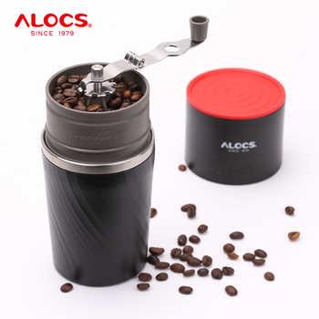 Alocs CW-K16 voyage en plein air Portable tout-en-un verser sur la cafetière cafetière tasse en céramique moulin à café Pour Camping pique-nique