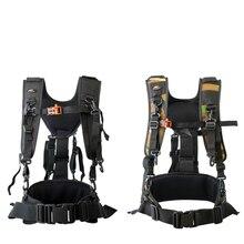 Appareil photo DSLR utilitaire ceinture technique harnais Kit photographie suspendus lentille pochette étui multifonctionnel fixe sac à dos sangle