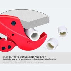 Nóż cięty rurka z tworzywa i aluminium rura wodna rura z tworzywa sztucznego nożycowy nóż cięty grzechotka aluminiowy nożycowy wąż hydrauliczny wycinarka w Nożyczki od Narzędzia na