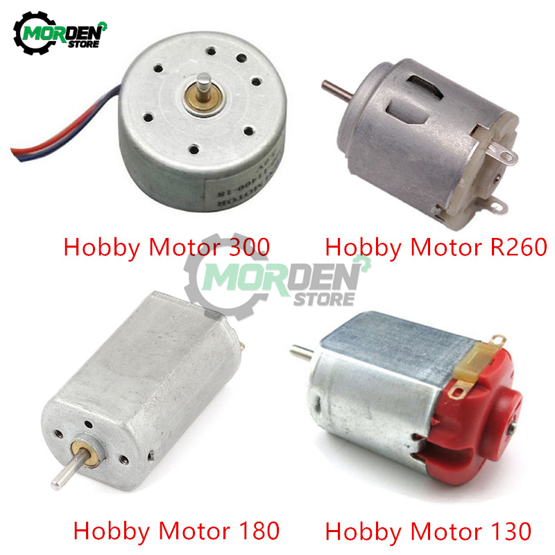 DC Motor Smart-Car Hobby High-Speed Electronic 180 300 R260 for DIY 3V Toy