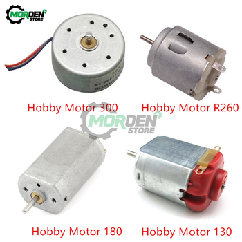 DC 1.5V 3V Hobby Motor 130 180 300 R260 DC Motor High Speed Hobby Toy Micro Motor High Torque for Smart Car Electronic DIY image