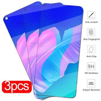 Перейти на Алиэкспресс и купить Для huawei p40 lite E Glass 3 шт Защитное стекло для huawei p 40 lite p40 light p40lite E p40liteE Защитная пленка для экрана