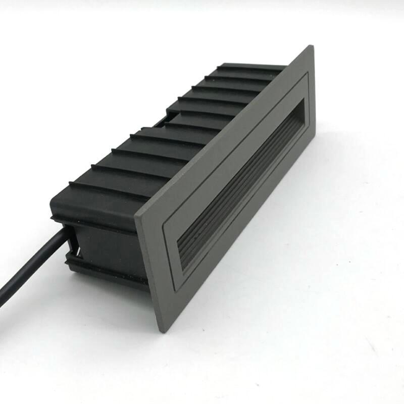 1 pcs 10 w cob led luz da escada ac85v 265v interior ao ar livre ip68