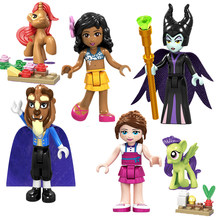 Legoing Friends Figures Princess Andrea Girl Olivia Kate Emma Dancet Set Mia Girls Martina Stephanie Blocks Friends Legoing Toys(China)