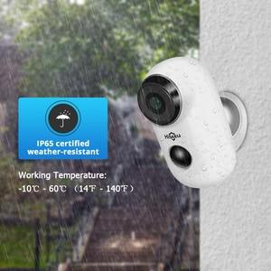 Image 2 - Hiseeu 1080P Wireless Battery IP Camera WiFi Rechargeable 2MP Outdoor Security Video Surveillance Camera Waterproof PIR Motion