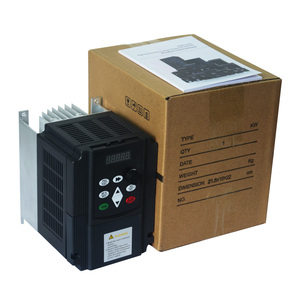 Image 5 - 4kw VFD step up convertitore di tensione inverter 220v a 380v singola fase 220V convertitore di tre fasi 380v AC trasformatore di potenza