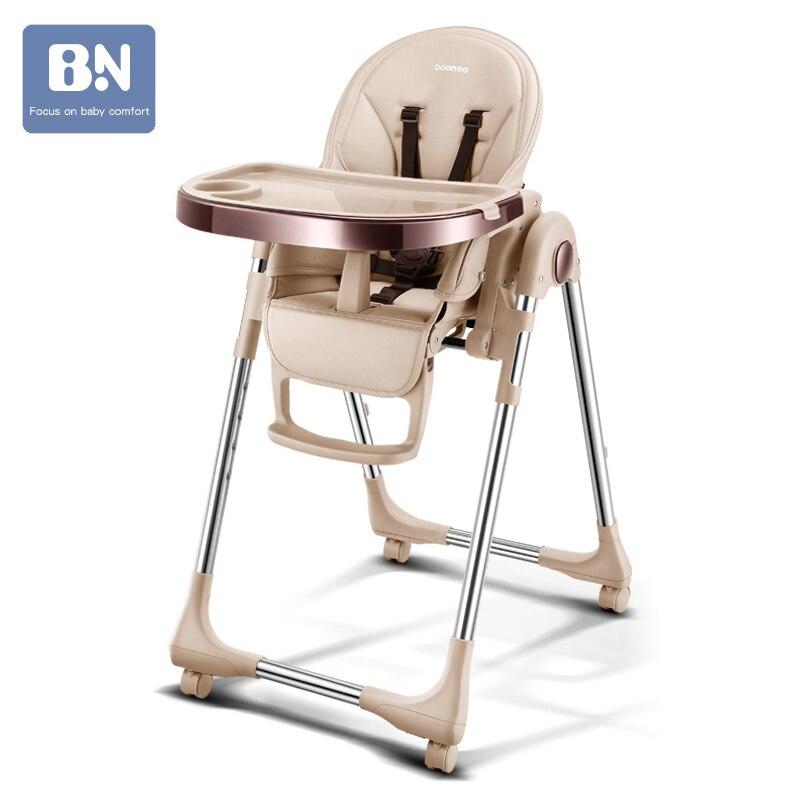 Baoneo russe livraison gratuite authentique portable bébé siège bébé table à manger multifonction réglable chaises pliantes pour les enfants