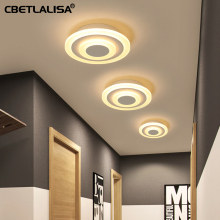 Modern ceiling lights 12 W for the hallway. the balcony. corridor. the bedroom. coffee white light bulb lamp, super quality and price facing the modern