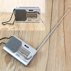 Image 5 - Battery Powered Ourtdoor Portable AM/FM Telescopic Antenna Radio Pocket Stereo Receiver AM FM radio for the elderly