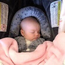 Детская подушка для поддержки головы/подголовник в комплекте ремень безопасности, детское автокресло подголовник подушка для поддержки го...