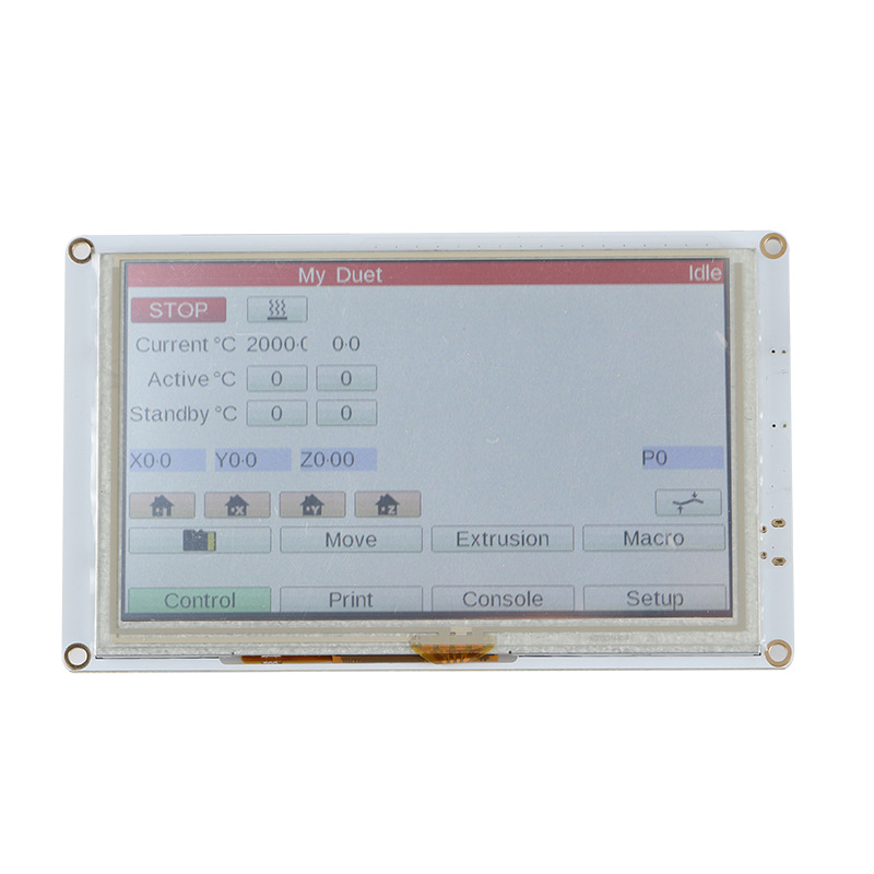 Clone 5'' 5 inch PanelDue 5i Integrated Paneldue Colour Touch Screen Controllers For DuetWifi Duet 2 Ethernet 3D Printer Parts image