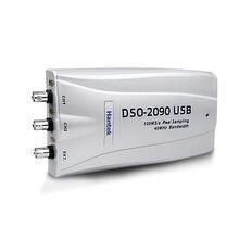 Hantek DSO-2090 osciloscópio digital portátil 2 canais 40mhz largura de banda usb pc osciloscópio 100 ms/s oficial e original