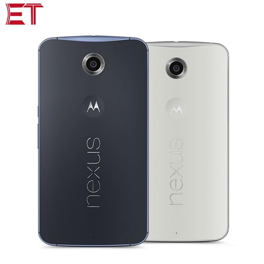 NEW Motorola Nexus 6 XT1100 4G Mobile Phone 3GB RAM 32GB ROM Snapdragon805 QuadCore 5.96