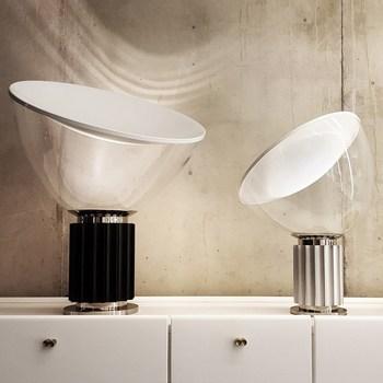 Taccia lampa stołowa włochy design lampa biurkowa w salonie nowoczesne dekoracje do domu biurko lampa stołowa lampka nocna sypialnia lampa stołowa noridc tanie i dobre opinie SOADORN ROHS CN (pochodzenie) Do sypialni Black 5142 Z aluminium Wtyczka UE 110 v 220 v 90-260 v Pokrętło Żarówki LED