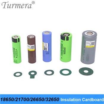 Anillo aislante de batería 18650, papel de cartón adhesivo para paquete de batería Lifepo4, M2, Turmera, 18650, 21700, 26650, 32700 1
