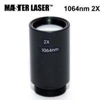 2x parafuso do expansor m22x0.75 do feixe do laser da fibra para a máquina de corte da gravura do laser