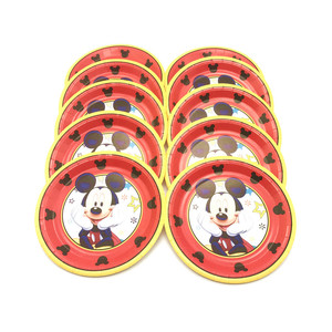 Image 4 - Chuột Mickey Sinh Nhật Bộ 1st Sinh Nhật Bé Trai Chuột Mickey Đỏ Tiệc Chủ Đề Bộ Đồ Ăn Trẻ Em Sinh Nhật Vật Dụng Trang Trí