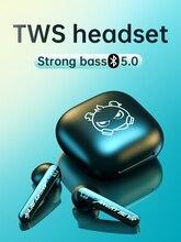 אלחוטי Bluetooth אוזניות ב אוזן אוזניות HIFI בס כבד אין עיכוב ארוך סוללה חיים ספורט עמיד למים עבור Xiaomi Huawei אפל