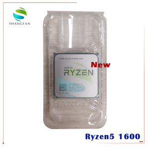 Image 1 - 새로운 AMD Ryzen 5 1600 R5 1600 R5 PRO 1600 3.2 GHz 6 코어 12 스레드 65W CPU 프로세서 YD1600BBM6IAE YD160BBBM6IAE 소켓 AM4