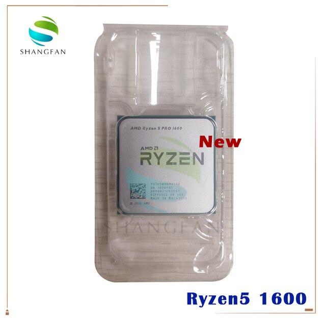 새로운 AMD Ryzen 5 1600 R5 1600 R5 PRO 1600 3.2 GHz 6 코어 12 스레드 65W CPU 프로세서 YD1600BBM6IAE YD160BBBM6IAE 소켓 AM4