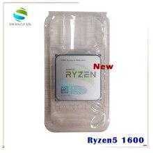 Новый процессор AMD Ryzen 5 1600 R5 1600 R5 PRO 1600 3,2 ГГц шестиядерный двенадцатипоточный процессор 65 Вт YD1600BBM6IAE YD160BBBM6IAE разъем AM4