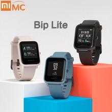 Amazfit Bip Lite Smart zegarek 45 jego bateria starcza na cały dzień pracy 3ATM odporność na wodę działalności zdrowe śledzenia aplikacji na smartfony powiadomienia