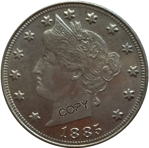 USA 《1884 1913》32 coins LIBERTY HEAD NICKEL FIVE CENT COPY COINS|Non-currency Coins| |  - title=