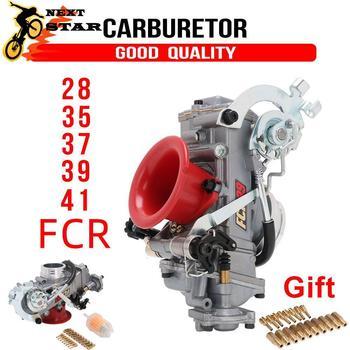 Carburador de aleación de Zinc para motocicleta, 28 33 35 37 39 41 Power Jet para FCR modificado para Honda 110cc-650cc Add Power 30%