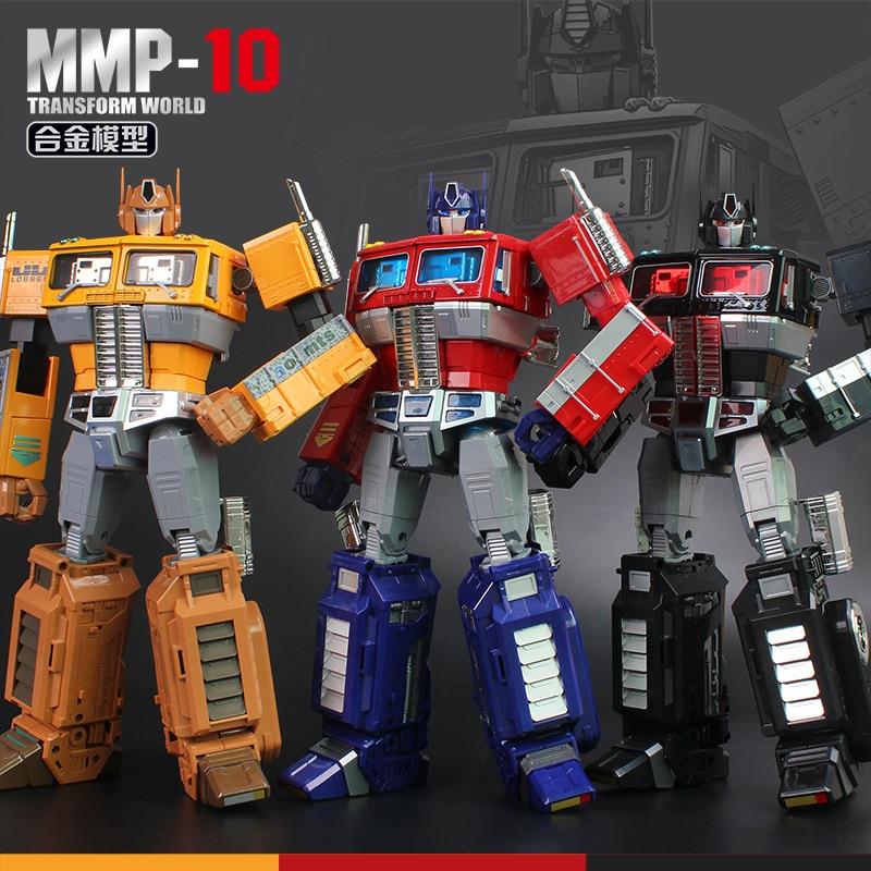 32cm YX MP10 MPP10 pièce en métal modèle G1 Transformation Robot jouet alliage mmp10 Commander moulé sous pression Collection figurine enfants cadeau