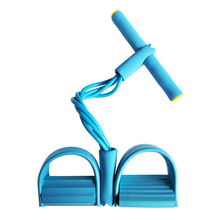 Exercise Home Fitness Elastic Band For Exercise Training Fitness Gum 4 Tube Resistance Bands Pedal Puller Training Equipment