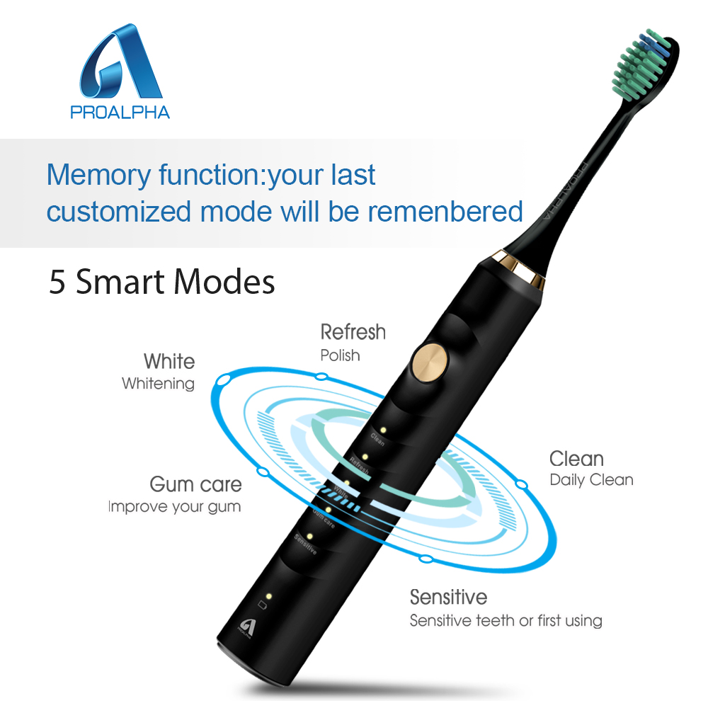 Proalpha Upgrade Electric Toothbrush heads Ultrasonic Toothbrushes with Sonic Replacement Tooth Brush Cepillo Dental Oral Hygien