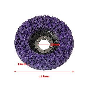 Image 3 - دروبشيب 2 قطعة 125 مللي متر 115 مللي متر 5 بوصة 46 حصى قرص الطحن عجلة ل زاوية طاحونة جلخ أدوات الأرجواني الأسود الأزرق