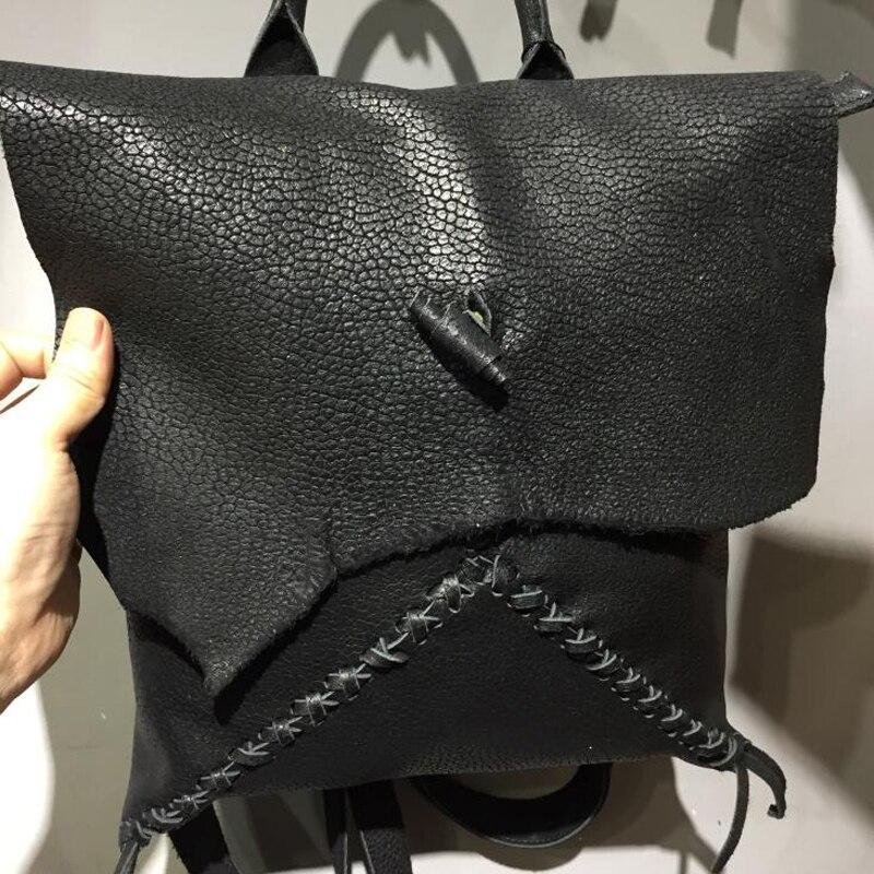 Special Design Women Genuine Leather Backpack Female Casual Travel Bag Teenager Shoulder Bag Fashion Women's Bags Bolsa Feminina
