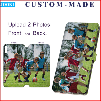 Personalized Photo Leather Men's Wallet For Xiaomi Redmi Note 4 Case For Xiaomi Redmi Note 4X Note4 4 Global Version Phone Case