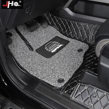 Carpet-Cover Car-Accessories Ford F150 Floor-Mat JHO Wire Raptor Crew Cab 4-Door Double-Layer