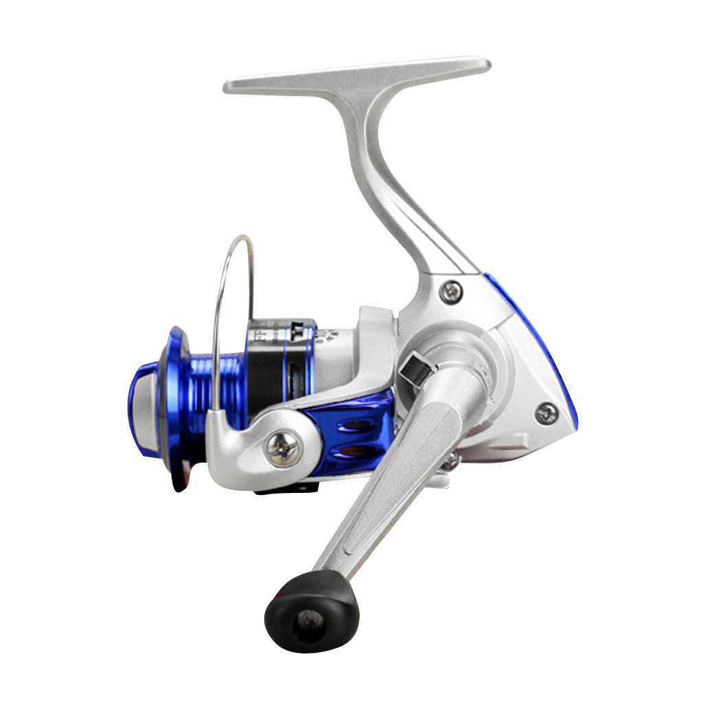 Carrete giratorio sellado FF150 Ultra suave carretes de pesca de Metal 10BB carretes giratorios