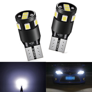 2x T10 LED Canbus Bulb W5W 168 194 Clearance Parking Lights For Audi A6 C5 C6 C7 A3 8P 8V A4 B5 B6 B7 B8 A5 A7 A8 Q3 Q5 Q7 TT R8(China)