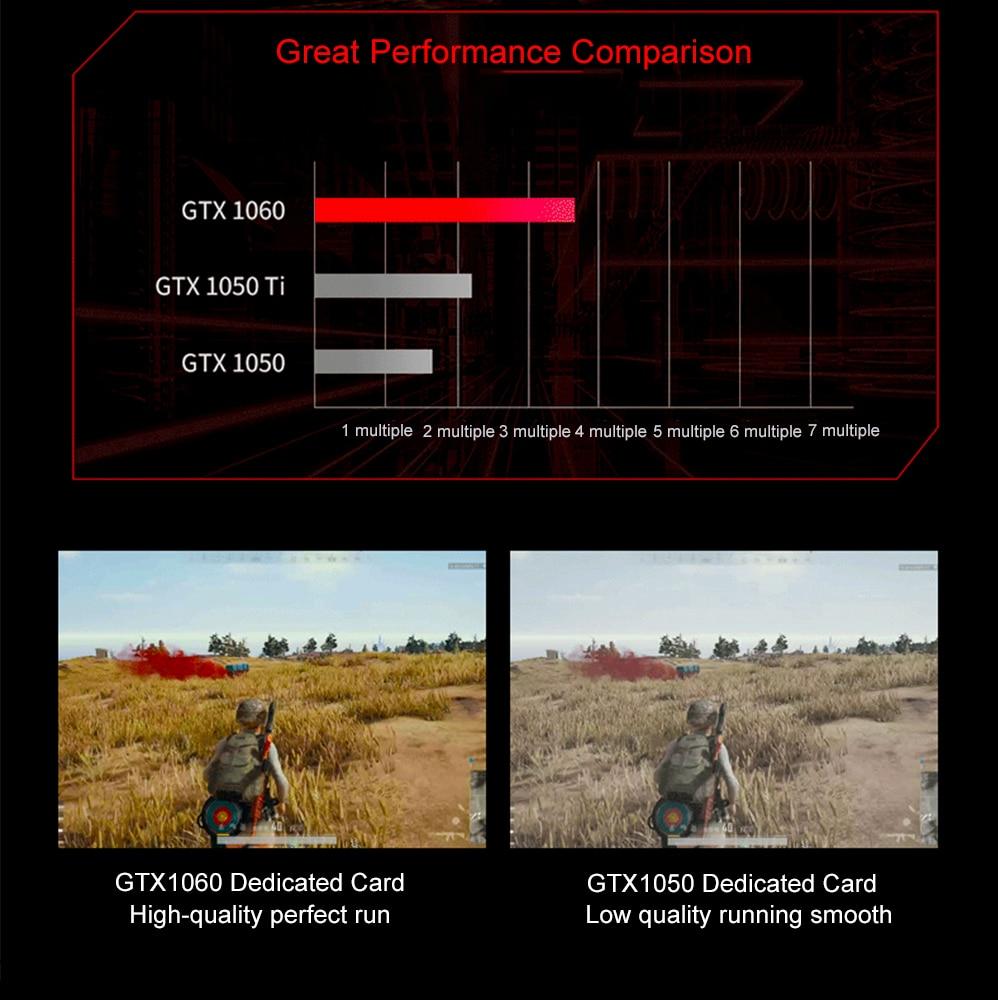 "H5bffc42a26d44a4895406ec864a1b54aG 15.6"" Intel Core i7-7700HQ NVIDIA GTX1060 Dedicated Graphics Windows 10 8GB RAM 512GB SSD Game Laptop Backlit Keyboard Notebook"